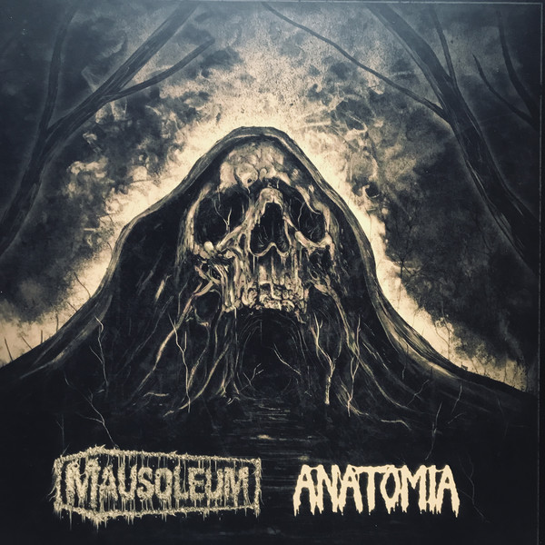 Anatomia / Mausoleum - Split LP