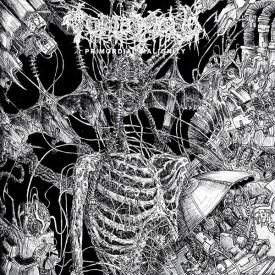 Tomb mold – Primordial malignity LP (Orange)
