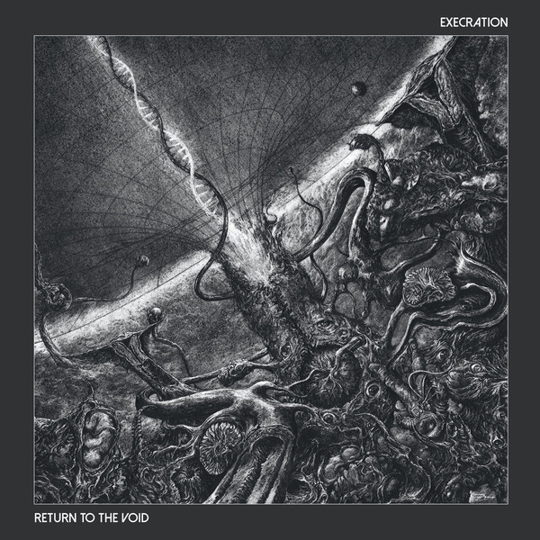 Execration - Return to the void  CD
