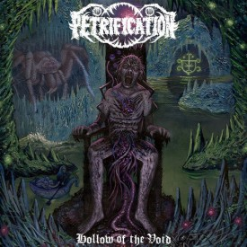 Petrification - Hollow of the void LP (Clear / blue /green)