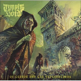 Temple of void - Of terror and the supernatural 2LP  (yellow / orange)