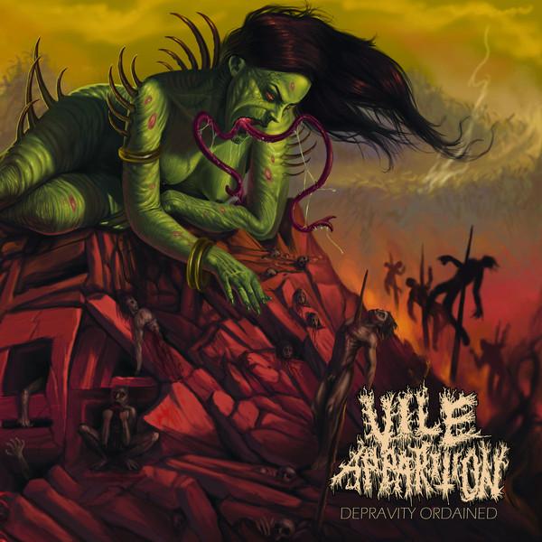 Vile apparition - Depravity ordained CD