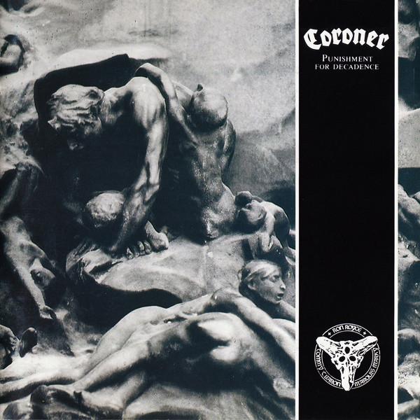 Coroner - Punishment for decadence  LP