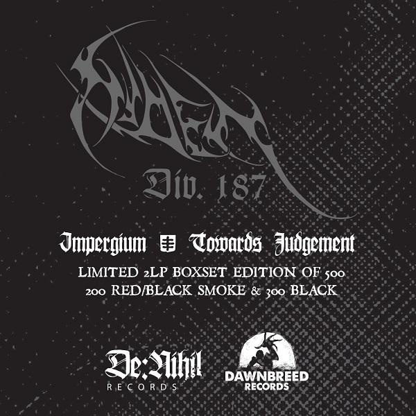 Niden div. 187 - Impergium / Towards judgement  2 LP Boxset  (pre order)