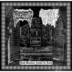 Candelabrum / Sulphuric night - Death Slumbers Amidst The Ruins  Split Cass