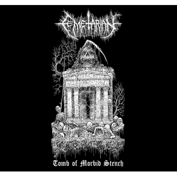 "Cemetarian - Tomb of morbid stench 7"" (Black vinyl)"