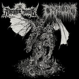 Archaic tomb / Cryptworm - split 7""