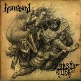 "Graveyard / Morbid flesh -  split 7"""