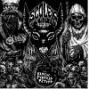 """Mortuous / Scolex - split 7""""  (Gold vinyl)  PRE ORDER !!!"""