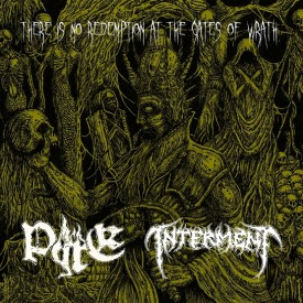 "Pyre / Interment - split 7"" Clear vinyl"