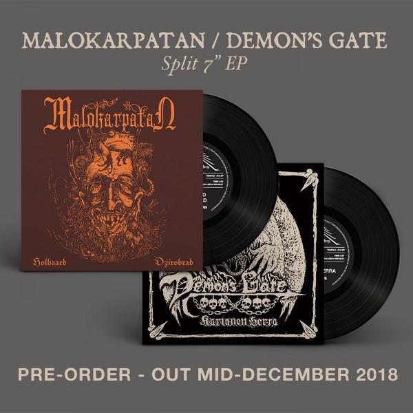 "Malokarpatan / Demon's gate split 7"""