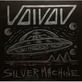 Voivod - Post society / Silver machines  7""
