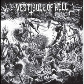 Vestibule of hell  Compilation LP Clear/Blue/Black vinyl