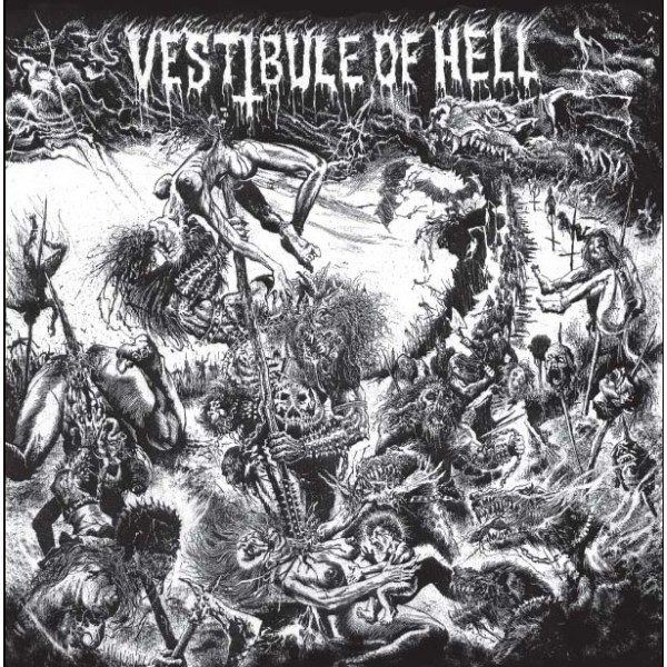 Vestibule of hell  Compilation LP Red vinyl
