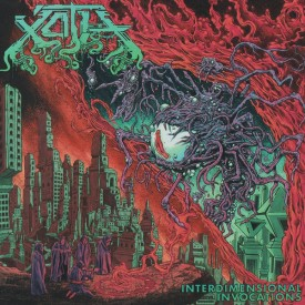 Xoth - Interdimensional Invocations LP  (Green mix)