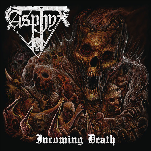 Asphyx - Incoming death LP (Red)