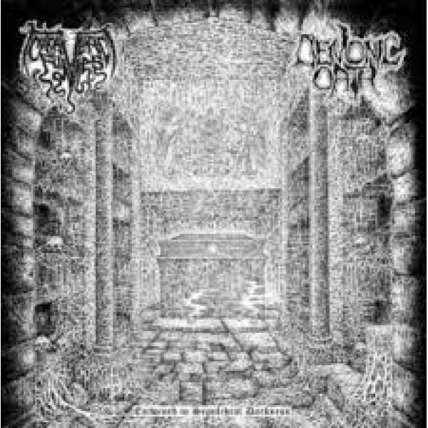 Cadaveric fumes / Demonic oath split lp