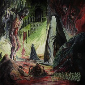 Chaotian - Festering excarnation LP  (yellow)