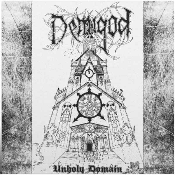 Demigod - Unholy domain LP  (Silver)