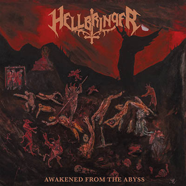 Hellbringer - Awakened from the abyss LP (Bronze)