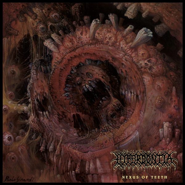 Hyperdontia - Nexus of teeth LP  (clear)