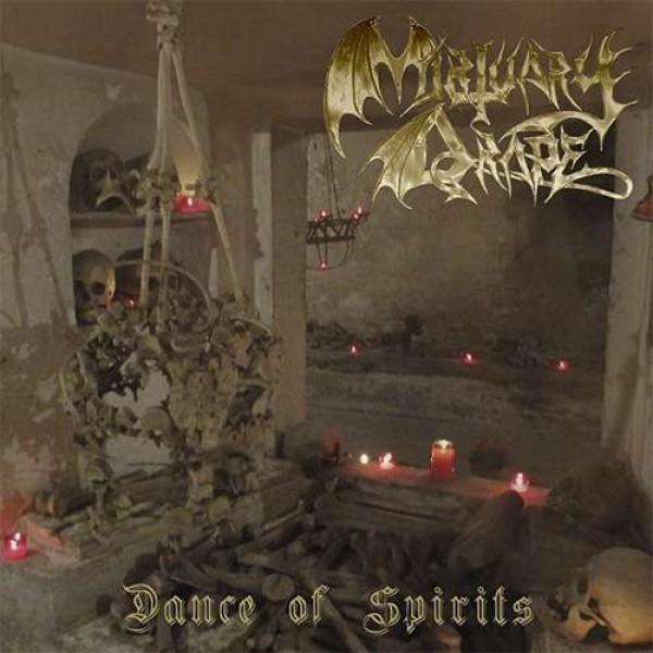 Mortuary drape / Necromass Split LP (red)