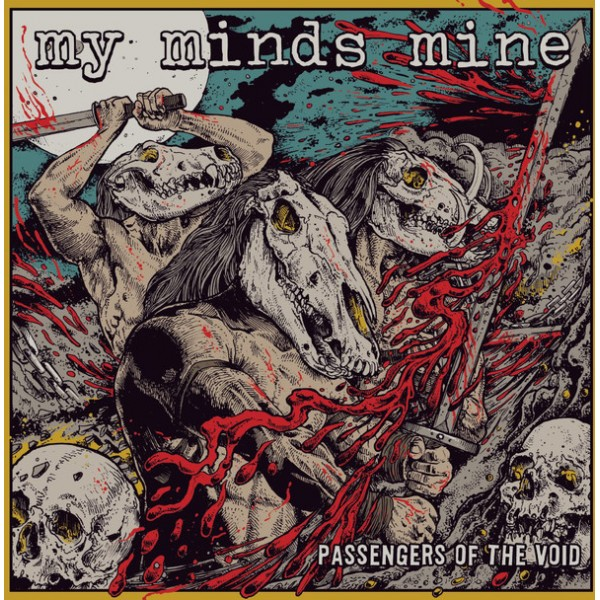My minds mine - Passengers of the void  LP (yellow)