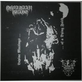 """Obsidian grave / Unholy vampyric slaughter sect  split 10""""  (Clear)"""