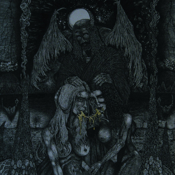 Sadokist - Thy Saviour's halo , Held by horns LP