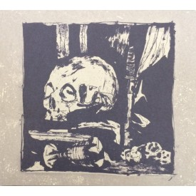 Wederganger / Laster - split LP (grey)