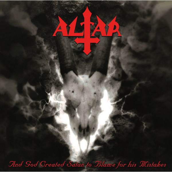 Altar - ...And god created satan..  LP (Red / black)