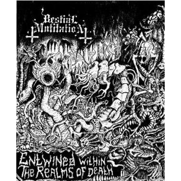 Bestial mutilation - entwined... - Demo (MC)