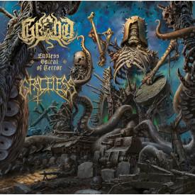 Graceless / Grond - Split LP  (Blue)