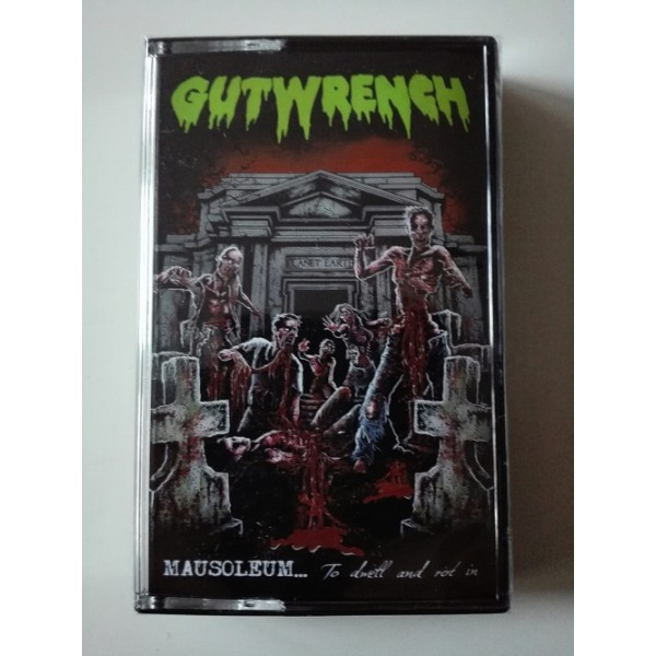 Gutwrench - Mausoleum ..to dwell and rot in  (MC)