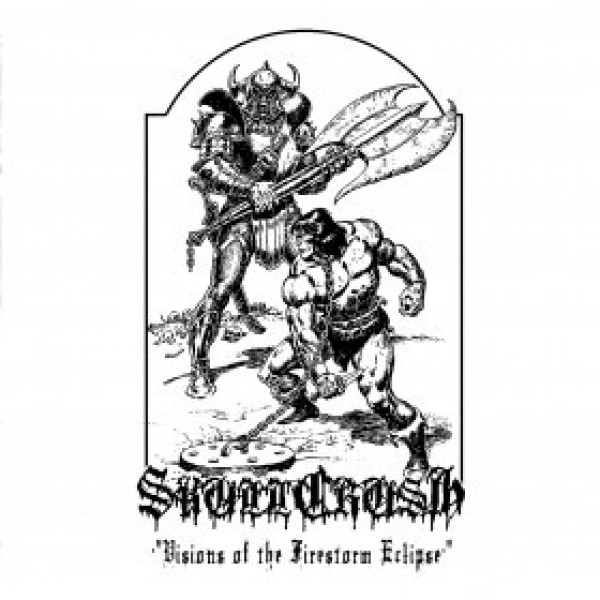 Skullcrush - Visions of the firestorm eclipse CD