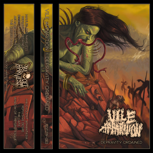 Vile apparition - Depravity ordained CASS