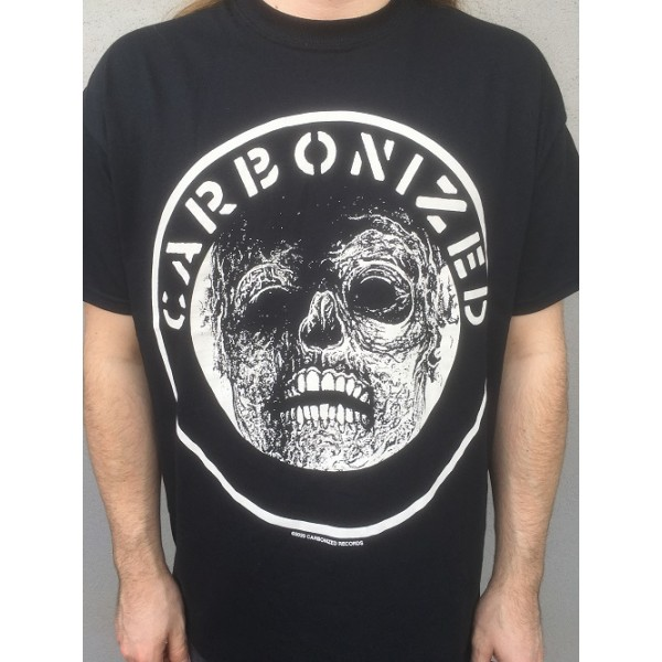 Carbonized records - logo shirt Large