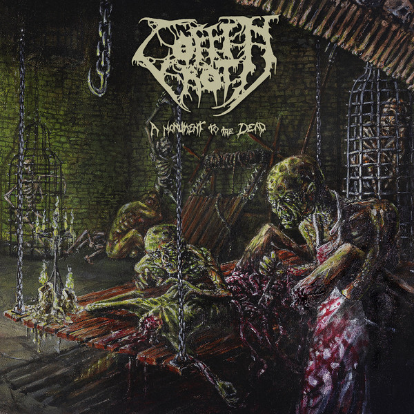 Coffin rot - A monument to the dead LP