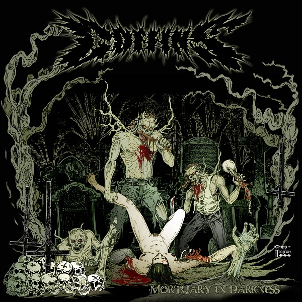 Coffins - Mortuary in darkness  Cass