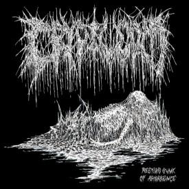 Cryptworm - Reeking gunk of abhorrence LP (Yellow)