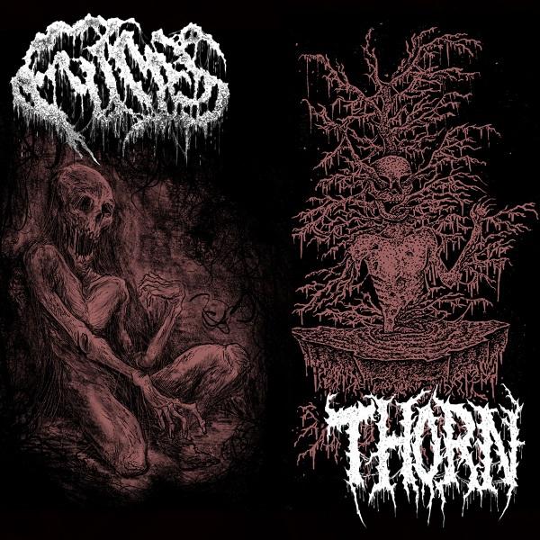 Fumes / Thorn - Split cassette