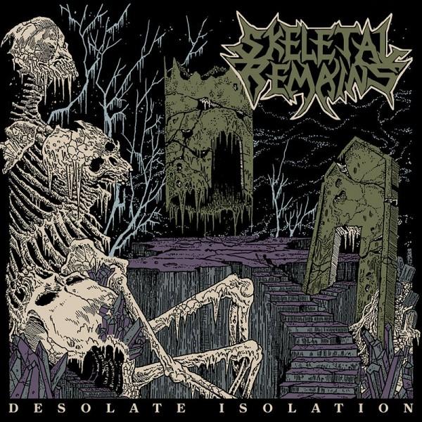 Skeletal remains - Desolate isolation LP  (Brown)