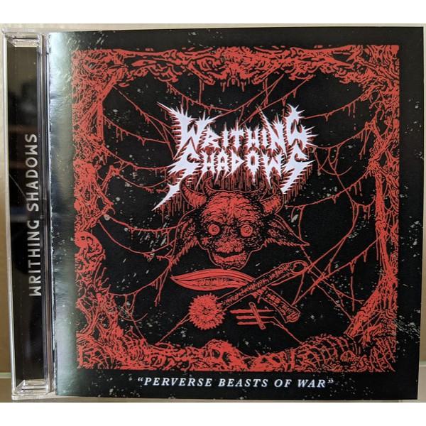 Writhing shadows - Perverse beasts of war  CD